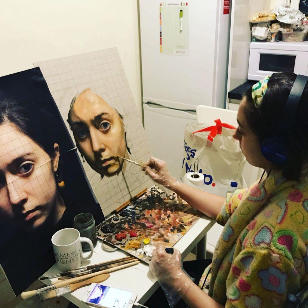 """""""Mamá, yo quiero ser 'pintorera' como Picasso"""""""