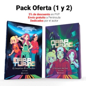 Pack Libros 1 y 2 de Mara Turing